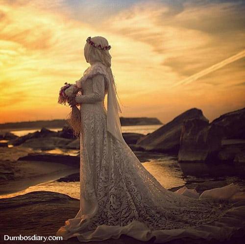 Beautiful muslim queen