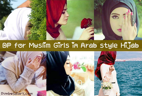 Image of: Stylish Dumbos Diary Dp For Muslim Girls In Arab Style Hijab For Social Media