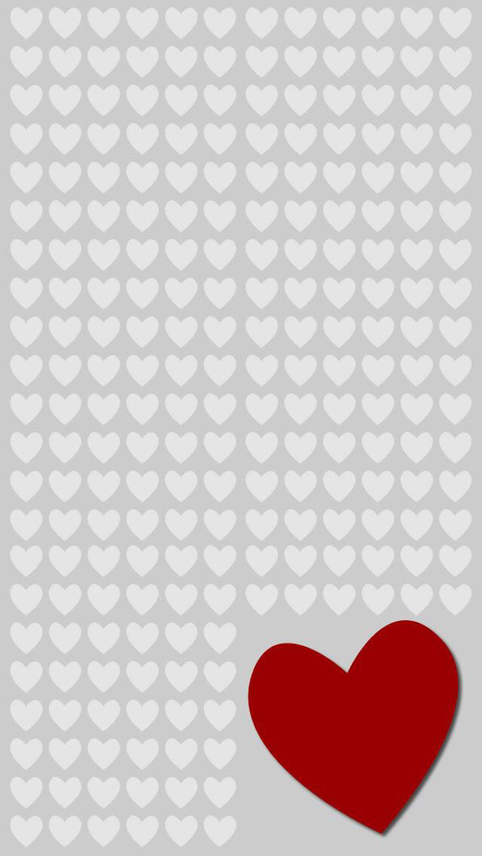 Hearts whatsapp wallpaper