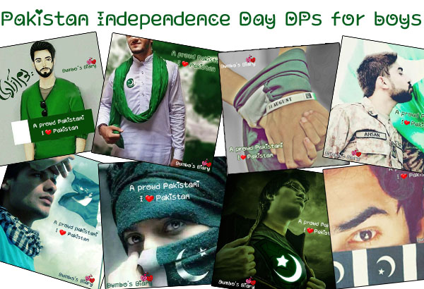 Pakistan Independence day WhatsApp n FaceBook DPs for Boys