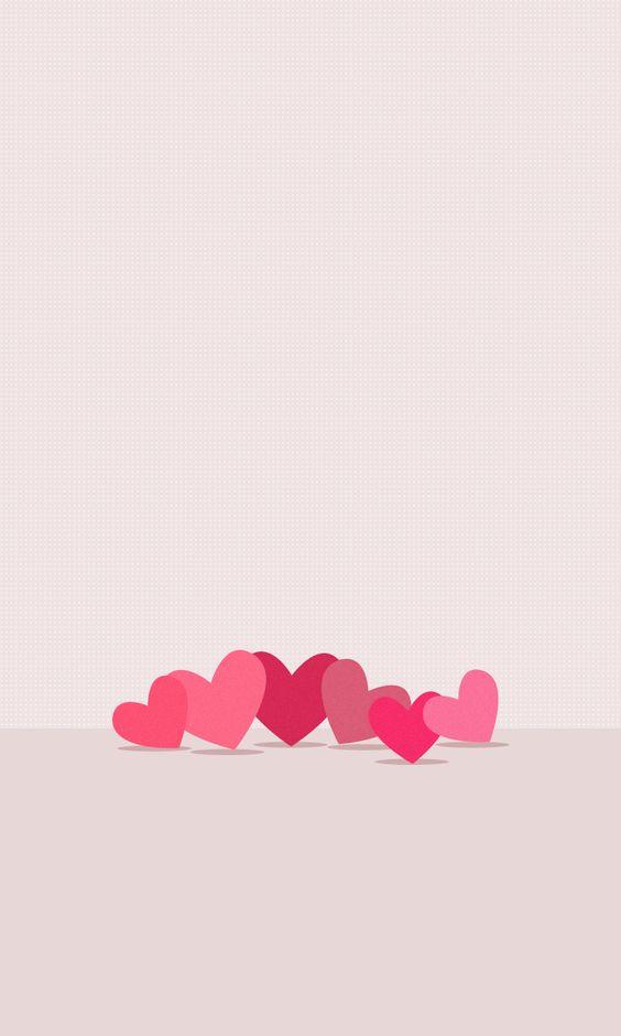 Обои сердечки на айфон