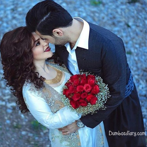 Lovely Couples In Love: Love-couple-with-roses