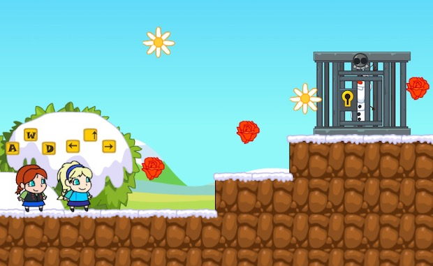 Frozen Elsa Save Olaf Multiplayer Unblocked Game
