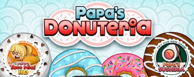 Papa Donuteria game unblocked cooking for girls