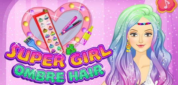 Super Girl Ombre Hair Game