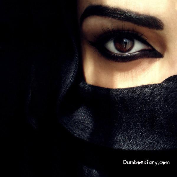Burka Beautiful Eyes Hd Wallpaper